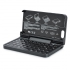 01 360 Degree Rotation Folding Bluetooth V3.0 Keyboard for Iphone 5 - Black