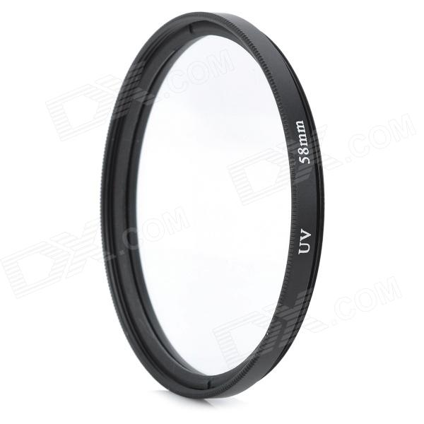 Ultra-Thin UV Lens Filter - Black + Transparent (58mm) ноутбук lenovo thinkpad t540 р 15 6 1366x768 матовый i3 4100m 2 5ghz 4gb 500gb 8gb ssd hd4600 dvd rw wi fi bluetooth win7 win8 1 черный 20be0099rt