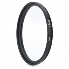 Ultra-Thin UV Lens Filter - Black + Transparent (58mm)