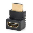 270 Degree Right Angle HDMI Male to Female Adapter - Black