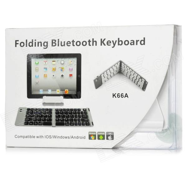 Freedom Pro Bluetooth Keyboard Android Driver: Foldable Wireless Bluetooth V3.0 66-Key Keyboard For Ipad Windows / Android Tablet PC
