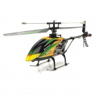 "WLtoys V912 Rechargeable 2.4GHz Single Blade 4-CH R/C Helicopter w/ 2.7"" LCD Remote Control - Black"