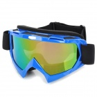 T815-7 UV Protection Cycling Eyes Glasses Goggle - Black + Blue