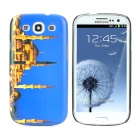 Blue Mosque of Istanbul Pattern Protective Plastic Back Case for Samsung Galaxy S3 i9300 - Blue