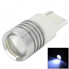 DFT20332 Highlight T20 3W 210lm 1-SMD LED White Light Car Steering Light - (DC 12V)