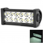 XLLED5-36W Waterproof 36W 1800LM 6500k 12-LED White Car Foglight / Dome Light (10~30V)