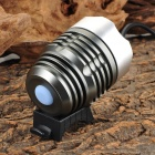 A988 692lm 3-Mode White Bicycle Light / Headlamp с Cree XM-L T6-серебристый + серый (4 x 18650)