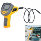 "Chinscope 99G 2.4"" TFT LCD 300KP 5X Video Inspection Tube Snake Camera Endoscope w/ TF Slot - Yellow"