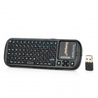 Ourspop DM-19 Wireless 2.4GHz 82-Key Keyboard - Black