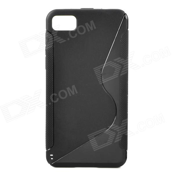 S Style Protective Back Case for BlackBerry Z10 - Black printio чехол для blackberry z10