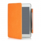 Stylish Protective 360 Degree Rotating PU Leather Case w/ Smart Cover for iPad Mini - Orange