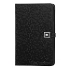 LXM88 Ultra-Thin Diamond Pattern Protective PU Leather Case for Ipad MINI - Black
