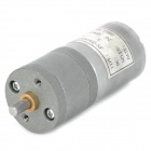 MN2522 25mm 6V 70RPM High Torque Brass Gear Motor - Silver Grey