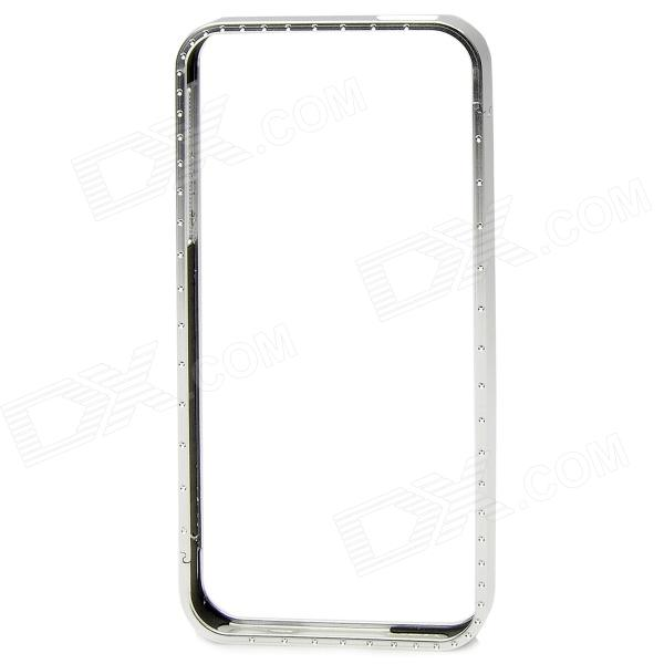 Detachable Protective Aluminum Alloy Bumper Frame for Iphone 5 - Silver