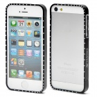 Detachable Protective Aluminum Alloy Bumper Frame for iPhone 5 - Black