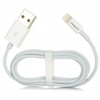 PISEN USB to 8-Pin Lightning Data/Charging Cable for iPhone 5 / iPad Mini / 4 / iPod Touch 5 - White
