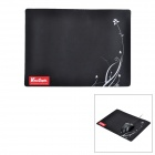 Ткань + резина игры Mouse Pad - Black