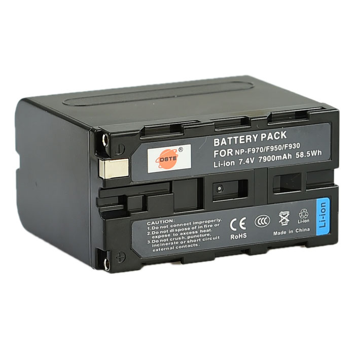 DSTE F970/F950/F930 7.4V 7900mAh Replacement Battery for DSR-PD198P DSR-PD190P DCR-VX2100E  FDR-AX1E