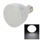 E27 4W 240lm 6500K 50-LED White Light Emergency Lamp Flashlight - White (AC 85~265V)
