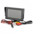 "Q1303 4.3"" PAL / NTSC Digital Security TFT Monitor - Black (DC 12V)"