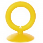 O-Ring Style Suction Cup Stand Holder for Iphone / Samsung / HTC / Xiaomi + More - Orange