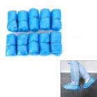 Polyethylene Anti-Slip Disposable Shoe Covers - Blue (100 PCS)