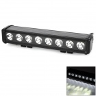 80W 7280lm 8-Cree XM-L T6 Flood DIY Work Light Bar for Car / Boat - Black (DC 10~45V)