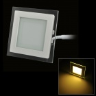 6W 500lm  1-LED Warm White Light Ceiling Lamp w/ LED Driver - White (AC 220~240V)