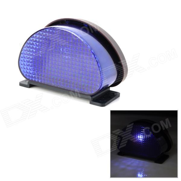 0.8W 450nm 1-LED Purple Light Solar Powered Fence / Wall / Courtyard / Garden Lamp - Black + Purple от DX.com INT