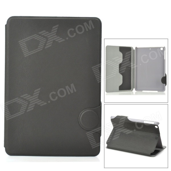 Stylish Protective PU Leather Case for Ipad MINI - Grey