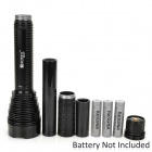RUSTU R310 2600lm 5-Mode White Flashlight w/ 5 x Cree XM-L T6 - Black (2~3 x 26650 / 18650)
