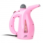 ChunXiao HQS-G3995 Mini Wall Mounted Handheld Garment / Facial Steamer w/ 3-Flat-Pin Plug - Pink