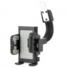 Universal Motorcycle Bicycle Holder Base for Cell Phone / Interphone / GPS - Black + Grey