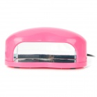 Heart Style Portable LED Nail Dryer Machine - Pink (3W)
