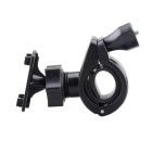 Universal Motorcycle Bicycle Holder Base for Cell Phone / Interphone / GPS - Black