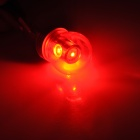 WL20130219 1157 5W 400lm 635~700nm 4-SMD LED Red Light Car Brake Light - Silver + Copper