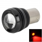 DF1156328-1 1156 3W 150~200lm 635~700nm 1-SMD LED Red Light Car Turn Signals - Silver + Black