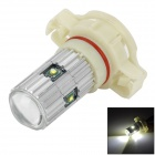 WFH1615 H16 15W 700lm 6000K 5-Cree-XP-E White Light Car Headlight / Foglight - Silver + White