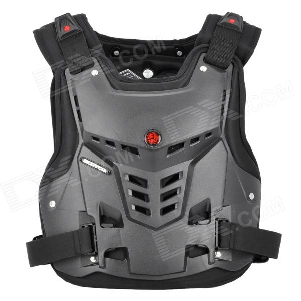 Scoyco AM05 Racing Motorcycle Body Armor Protector - Black (Size L)