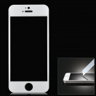 Protective Toughened Glass Front Screen Cover Sticker for Iphone 5 / 5s - White