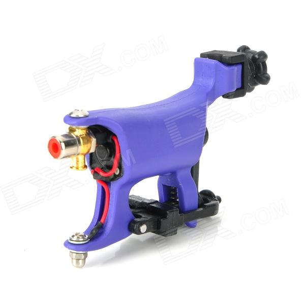 97141-WQ011-1 Liner Shader Butterfly Tattoo Machine - Purple + Black solong tattoo professional power supply tattoo black tattoo digital lcd design stable dual machine foot switch pedal cast iron