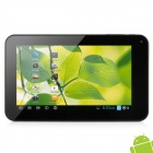 "W70 7"" Capacitive Screen Single Core Android 4.1 MID Tablet PC w/ 0.3 MP Camera / Wi-Fi / TF - Black"