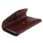 Beidi Erke BK1-1005 Genuine Leather Car Key Cover Case - Brown