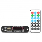 Plug-In Multi-Media Bluetooth 3.0 EDR MP3 Player Module w/ SD Card Slot / USB - Black (DC 12V)