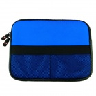 "Protective Soft Bag for Ipad / Ipad 2 / Ipad 3 / 9.7"" Tablet PC - Blue + Black"