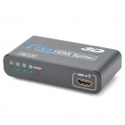 1080P 1-In 4-Out HDMI 1.3b Splitter w/ 2-Flat-Pin Plug - Black + White