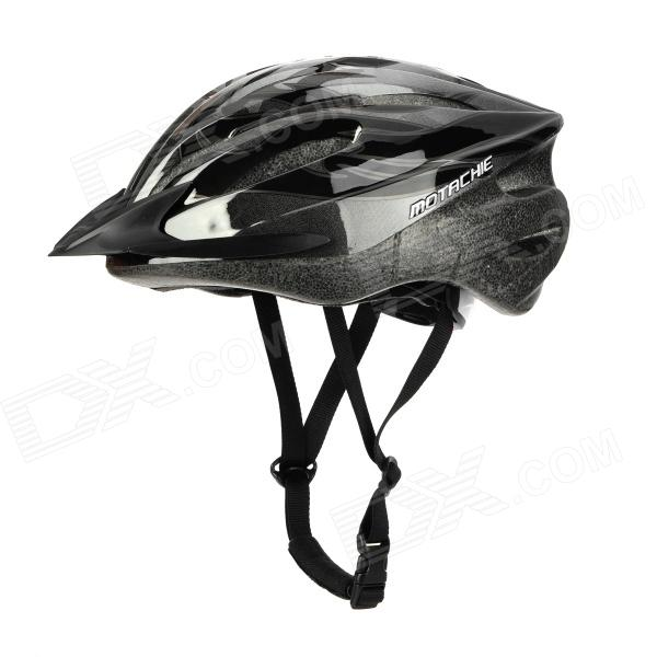 Motache N20 Outdoor Sports Bicycle Bike Cycling Helmet - Black + Grey