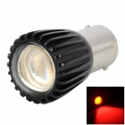 DF115615998 1156 3W 150~200lm 635~700nm 1-SMD LED Red Light Car Lamp / Turn Signals - Black + Silver
