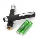 5-in-1 Adjustable 5mW 532nm Gypsophila Green Laser Pointer - Black (2 x AAA)