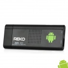 REKO MK809 Dual-Core Android 4.1.1 Google TV Player w / Wi-Fi / TF / 1GB RAM / 4GB ROM - Black